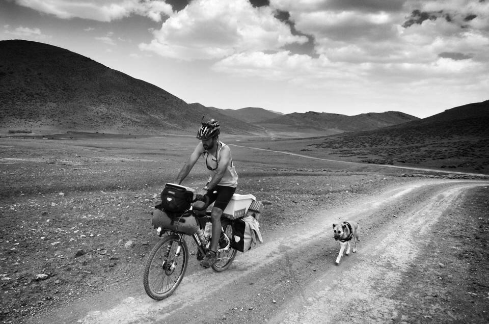 viajar en bicicleta