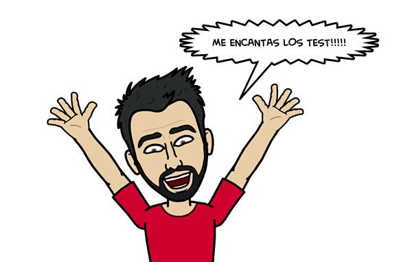me encantan los test
