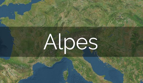Rumbo al Este: fotos Alpes