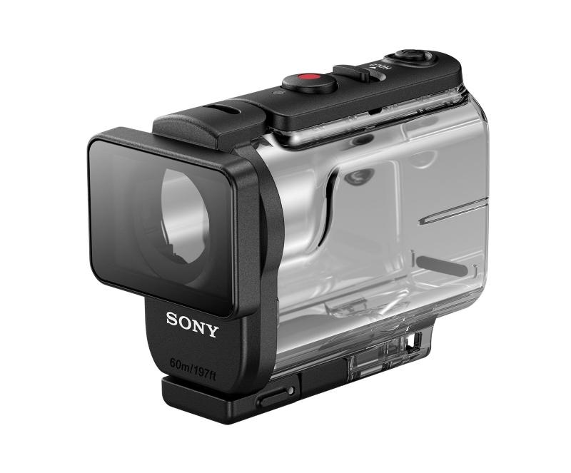 Carcasa sumergible de la Sony FDR-X3000R